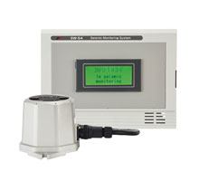 Seismic monitoring system with display (SW-54)